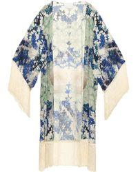 Athena Procopiou - Omorfi Katerina Silk Kimono - Lyst