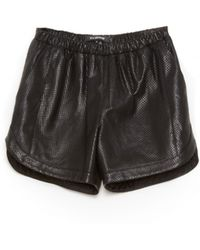 Tess Giberson | Leather Shorts | Lyst