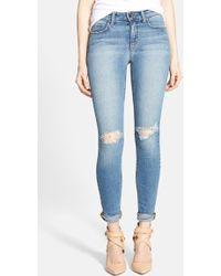 Joe's Jeans Rolled Skinny Jeans - Lyst