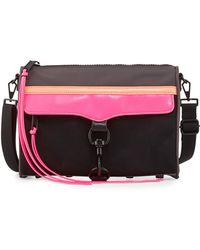 Rebecca Minkoff Mac Nylon Crossbody Bag - Lyst