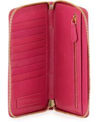 Lauren Merkin Front-pocket Continental Wallet - Pink