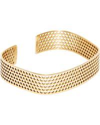 Jem - Women's Voids Xl Bracelet In Yellow Gold - Lyst