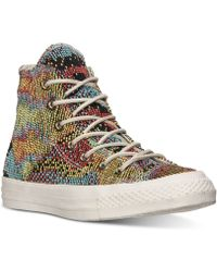 Converse Women'S Chuck Taylor Multi Panel High Casual Sneakers From Finish Line multicolor - Lyst