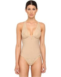 Donna Karan New York Sculpting Solutions Lace Body Briefer - Lyst