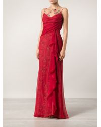 Notte By Marchesa Illusion Lace Gown - Lyst
