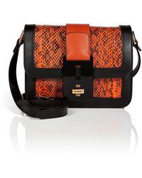 Vionnet Snakeskin Shoulder Bag - Lyst