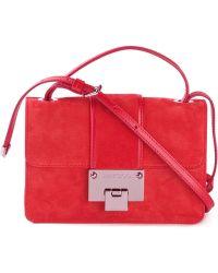 Jimmy Choo Rebel Leather Cross-Body Bag - Lyst
