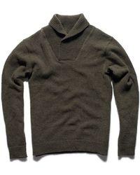 Kaufmann Mercantile Wool Pullover Sweater green - Lyst