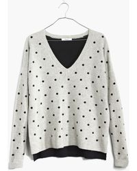 Madewell Spot-on Pullover Sweater - Lyst