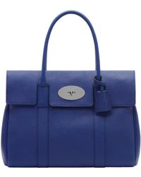 Mulberry Blue Bayswater - Lyst