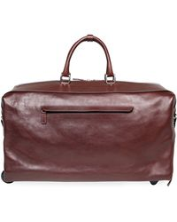 T. Anthony - Two-wheel Leather Carryon Duffel Bag - Lyst
