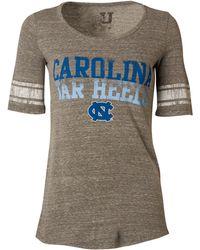 MYU Apparel - Women's Short-sleeve North Carolina Tar Heels Sequin T-shirt - Lyst