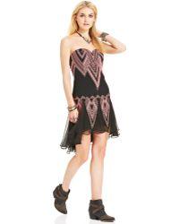 Free People Radiating Angles Dress - Black