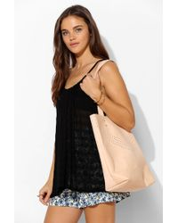 Cold Picnic -  Perforated Leather Tote Bag - Lyst