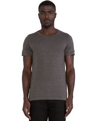 Cast Of Vices Double Sleeve Tee - Lyst