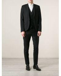 Dolce & Gabbana Black Waistcoat Suit - Lyst