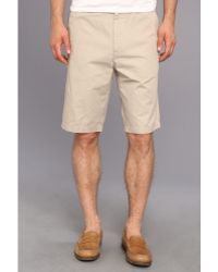 Calvin Klein Chino Walking Short - Lyst