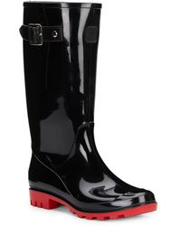 Dav Tall Jelly Buckle Rain Boots - Lyst