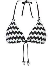 Seafolly Mod Club Slide Triangle Bikini Top - Lyst