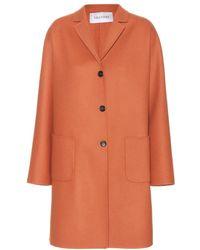 Valentino Wool-Blend Coat - Lyst