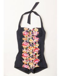 Seafolly Be That As It Bouquet One-Piece Swimsuit In Flower Box - Lyst