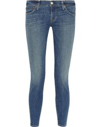 Textile Elizabeth And James Ozzy Mid-rise Skinny Jeans - Lyst