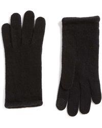 Portolano | Cashmere Tech Gloves | Lyst