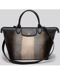 Longchamp Satchel - Le Pliage Heritage Luxe Large - Lyst