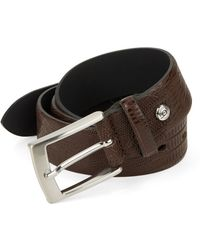 Bugatti | Textured Leather Belt | Lyst