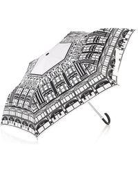 Harrods Faãade Umbrella - Black