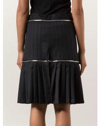 Hood By Air Pleated Zip Detachable Shorts - Black