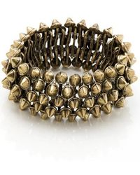 Dirty Pretty Things Good Point Spike Bracelet - Lyst