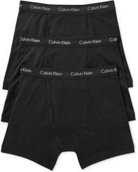 Calvin Klein Mens Cotton Stretch Boxer Briefs 3pack - Lyst