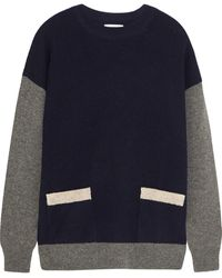 Chinti And Parker Colorblock Wool Sweater - Lyst