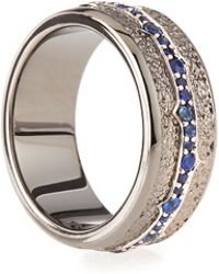 Stephen Webster Mens Silver Sapphire Ring - Lyst