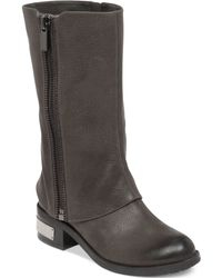 Vince Camuto Winivive Moto Boots - Lyst