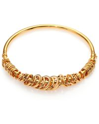 Chloé Freja Collar Necklace gold - Lyst