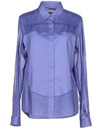 Mm6 By Maison Martin Margiela Shirt - Lyst