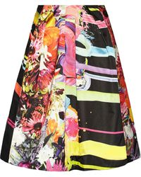 Preen Cotton-blend Skirt - Lyst