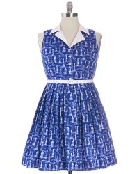 ModCloth Beacon Of Charm Dress - Lyst