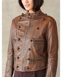RRL | Leather Rider Jacket | Lyst