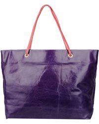 Halaby Handbag - Purple