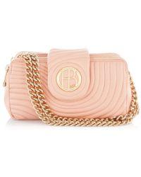 Henri Bendel No 7 Quilted Petite Shoulder Bag - Lyst