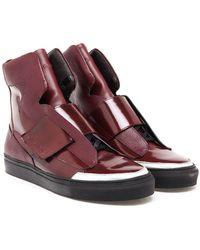 Raf Simons Hi-top Sneakers - Lyst