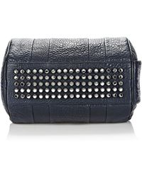 Alexander Wang Rocco in Pebbled Neptune with Rhodium - Lyst