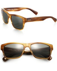 Paul Smith Carston 57mm Square Acetate Sunglasses - Lyst