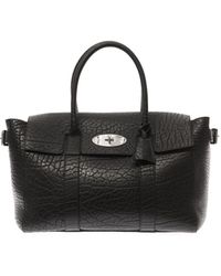 Mulberry Bayswater Buckle Leather Tote - Lyst