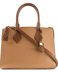 Michael Kors Brown 'Casey' Tote - Lyst