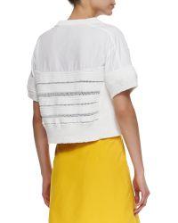 Risto - Adria Short-sleeve Handknit T-shirt - Lyst