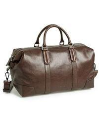 Ben Minkoff - 'mini Wythe' Leather Duffel Bag - Lyst